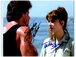 ROCKY - STALLONE & SHIRE Signed Autographed Cast Photo w/COA 116 - $160.00