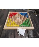 Labyrinth Style Board Game with Wood Pieces - $35.50