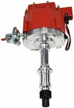 Pontiac SB BB HEI Distributor 301 326 350 389 400 421 428 455 8mm Spark Plug Kit image 3