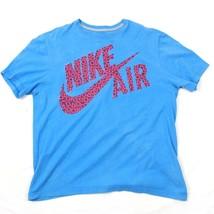 Nike Aire Retro 27.4ms Camiseta Hechizo Pierdas Logo Grande Ajuste Estándar T - $22.88