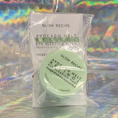 SEALED NEW Glow Recipe Avocado Melt Retinol Eye Sleeping Mask 5mL