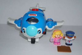 Fisher Price Little People Going Places Travel Airplane Plane & Figures - $18.69