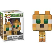 Funko Pop Games: Minecraft-Ocelot (Styles May Vary) Collectible Figure - $10.99