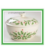 Lenox  Christmas Holiday™  Small Covered Casserole  New in Box - $39.60