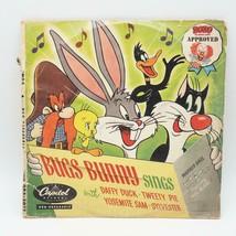 Bozo tested Mel Blanc Bugs Bunny sings record Album Set LP - $35.04
