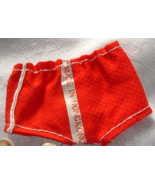 doll clothes vintage Hong Kong red swimsuit w exterior label for Ken - $9.99