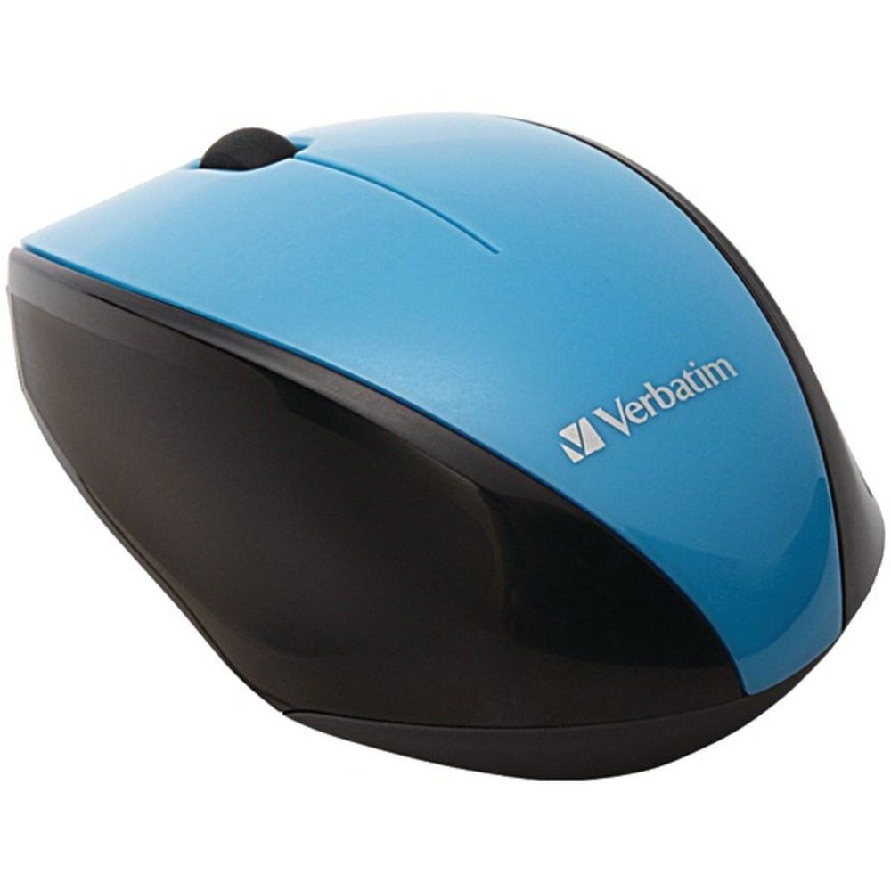 Primary image for Verbatim 97993 Wireless Multi-Trac Blue LED Optical Mouse (Blue)