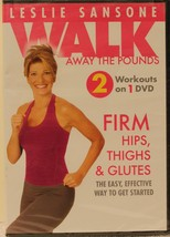 NEW Leslie Sansone Walk Away the Pounds Firm Hips Thighs & Glutes workou... - $18.99