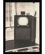 Silvertone TV Antenna Box Photograph Floor Cabinet Model B/W to Brown - $15.99