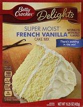 Betty Crocker Delights Super Moist French Vanilla Cake Mix - 15.25 oz (P... - $9.99