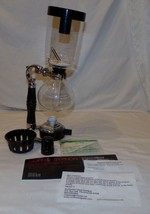 Coffee Syphon 3 Cup Hario Siphon Brewer Machine Glass - $48.35