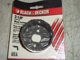 """Bnip Black & Decker 2 1/8"""" Wood Cutting Hole Saw U1282 U1282-03 Made In Usa - $7.65"""