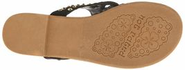 Not Rated Make it Rain Studded Crystals Summer Thong Sandals Beach Slippers NIB image 7