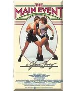 VHS - The Main Event (1979) *Barbra Streisand / Ryan O'Neal / Paul Sand* - $7.00