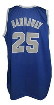 Penny Hardaway #25 College Basketball Jersey New Sewn Blue Any Size image 2