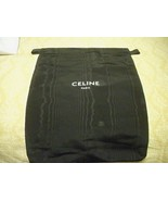 "CELINE Designer Black Storage Dust bag 10"" x 13"" for Bag Shoes or access... - $13.85"