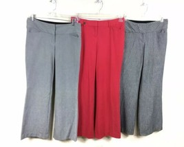 Express Editor Dress Pant Trousers Lot Of 3 Size 2S Short - $28.04