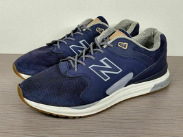 New Balance 1550 Sneaker, Blue/Grey Suede, Mens Size 10.5 / 44.5 - $33.59