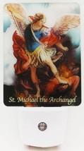Devotional LED Night Light: Saint Michael