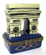 Arch Arc de Triomphe Paris France Trinket Box phb - €27,28 EUR