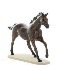 Hagen Renaker Miniature Horse Thoroughbred Seabiscuit Ceramic Figurine Boxed image 3