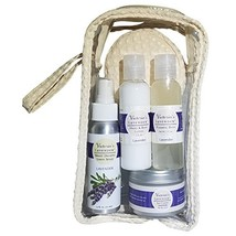 Victoria's Lavender LUXURY LAVENDER TRAVEL GIFT SET with Hand & Body Lot... - $899,18 MXN