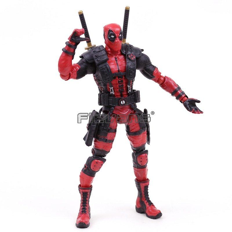 """Marvel Comics X Men Legends Deadpool PVC Action Figure Collectible Model Toy 10"""" image 3"""