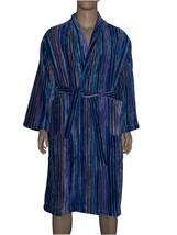 Missoni Striped Medium or Large Shawl Collar Bath Robe - Blue, Purple, G... - $275.00