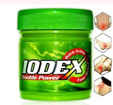 Double Powder Iodex® Multipurpose Pain Relief & Head Fast Balm  9g,18g,45g - $4.77+