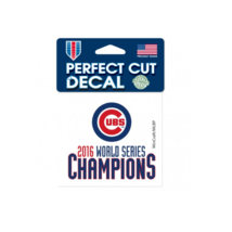 Chicago Cubs 2016 World Series Champions Decal - $4.99