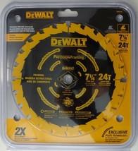 """DEWALT DW3199 7-1/4"""" x 24T Carbide Tooth Precision Saw Blade - $11.88"""