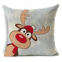 Christmas Tidings Printed Pillow Covers - $7.06