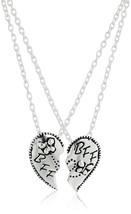 """Best Friend Necklace Sterling Silver BFF Breakaway Pendant Necklace 18"""" ... - $237.10"""