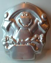Barney Birthday SURPRISE Dinosaur Cake Pan Wilton 1998 Vintage - $12.82