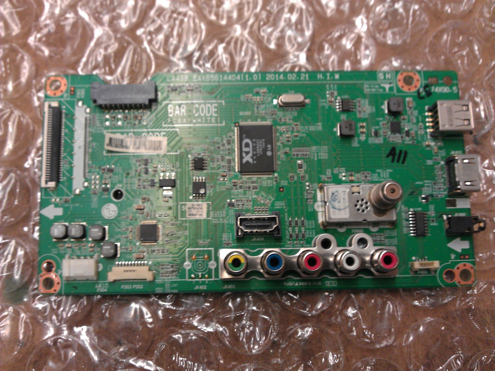 EBU62287640 Main Board From LG 32LB560B-UZ.BUSMLJM LCD TV