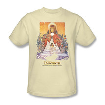 Labyrinth Movie Poster T-shirt retro 80s cool graphic printed cotton tee LAB101 image 2