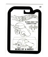 """2015 Wacky Packages Series 1 Pencil Art Card """"SNOT WHEELS"""" #81 - $1.50"""
