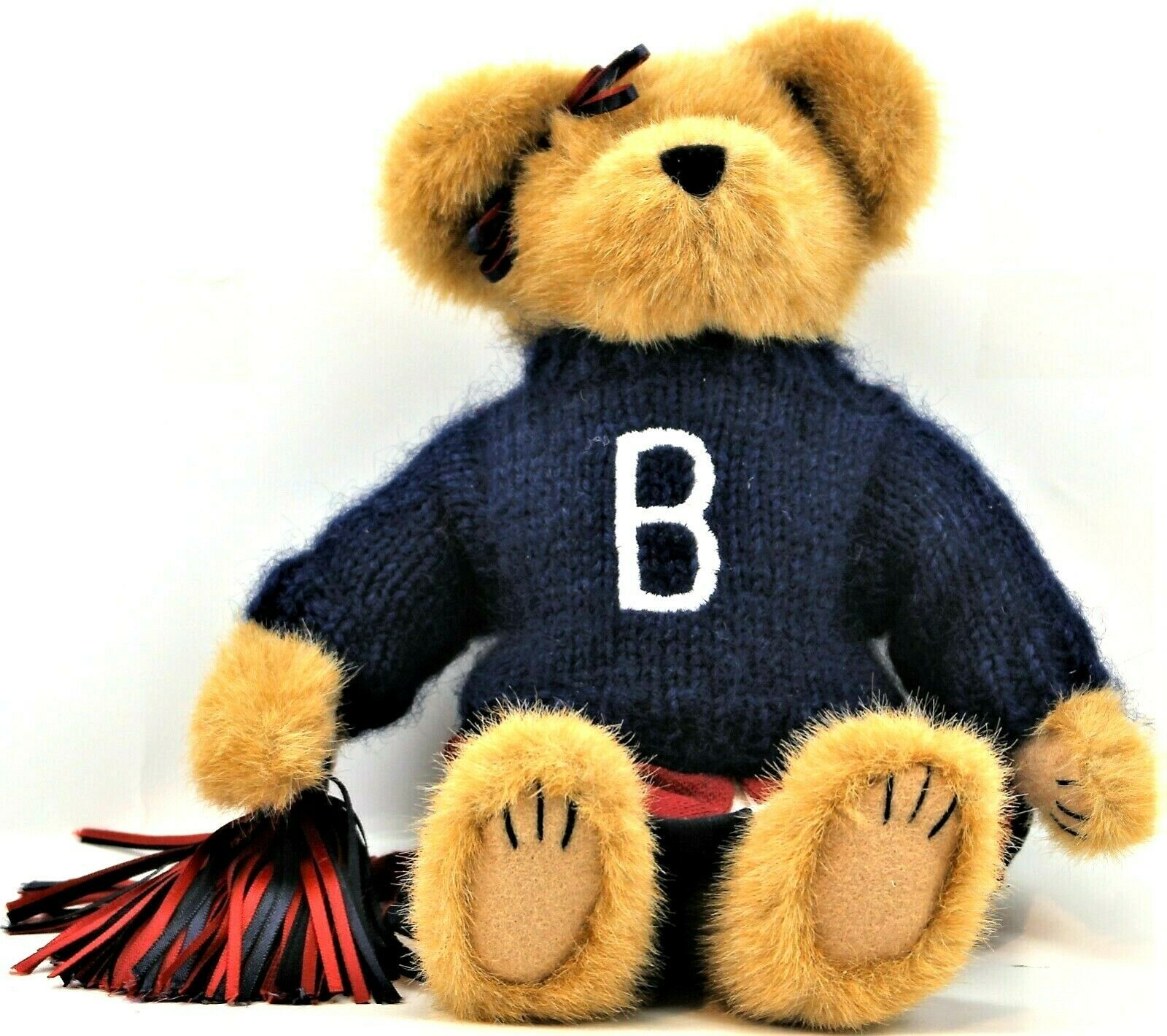 Boyds Bears Plush Tami P. Rally Plush Cheerleader Bear School Collection