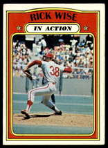 VINTAGE MLB 1972 Topps #44 Rick Wise IA Excellent - $1.25