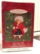 Hallmark Keepsake Ornament - Christmas Holly - Madame Alexander - 2000  EUC - $7.95