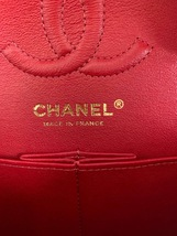 AUTH BNWT CHANEL 2019 RED CAVIAR QUILTED MEDIUM DOUBLE FLAP BAG GHW RECEIPT image 9