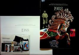 1988 Commemorative Stamp Collection Sealed Mint Stamp Set USPS #868 - $18.95