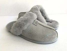 Ugg Scuffette Ii Glitzy Grey Violet Shearling Slipper Us 11 / Eu 42 / Uk 9.5 - $83.22