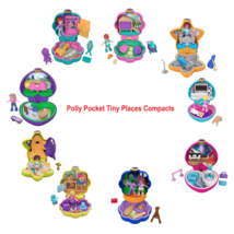 Polly Pocket Tiny Pocket Places Compact with Doll and Accessories You Ch... - $11.88