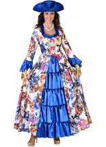 The Countess / Marchioness Costume - Blue Butterfly  XS-XXL - $74.74