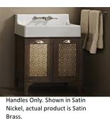 DXV 770217-201.4207A Oak Hill Vanity Handles in Satin Brass - $22.27