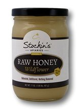 Stockin's Raw Wildflower Honey, 17 Oz. Jar (Pack of 4) - $49.25