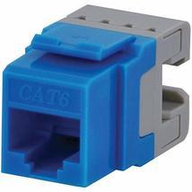 Datacomm Electronics 20-3426-BL-10 CAT-6 Jacks, 10 Pack (Blue) - $62.44