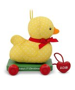 Hallmark Keepsake Christmas Ornament 2018 Year Dated, Baby's First Chris... - $9.90