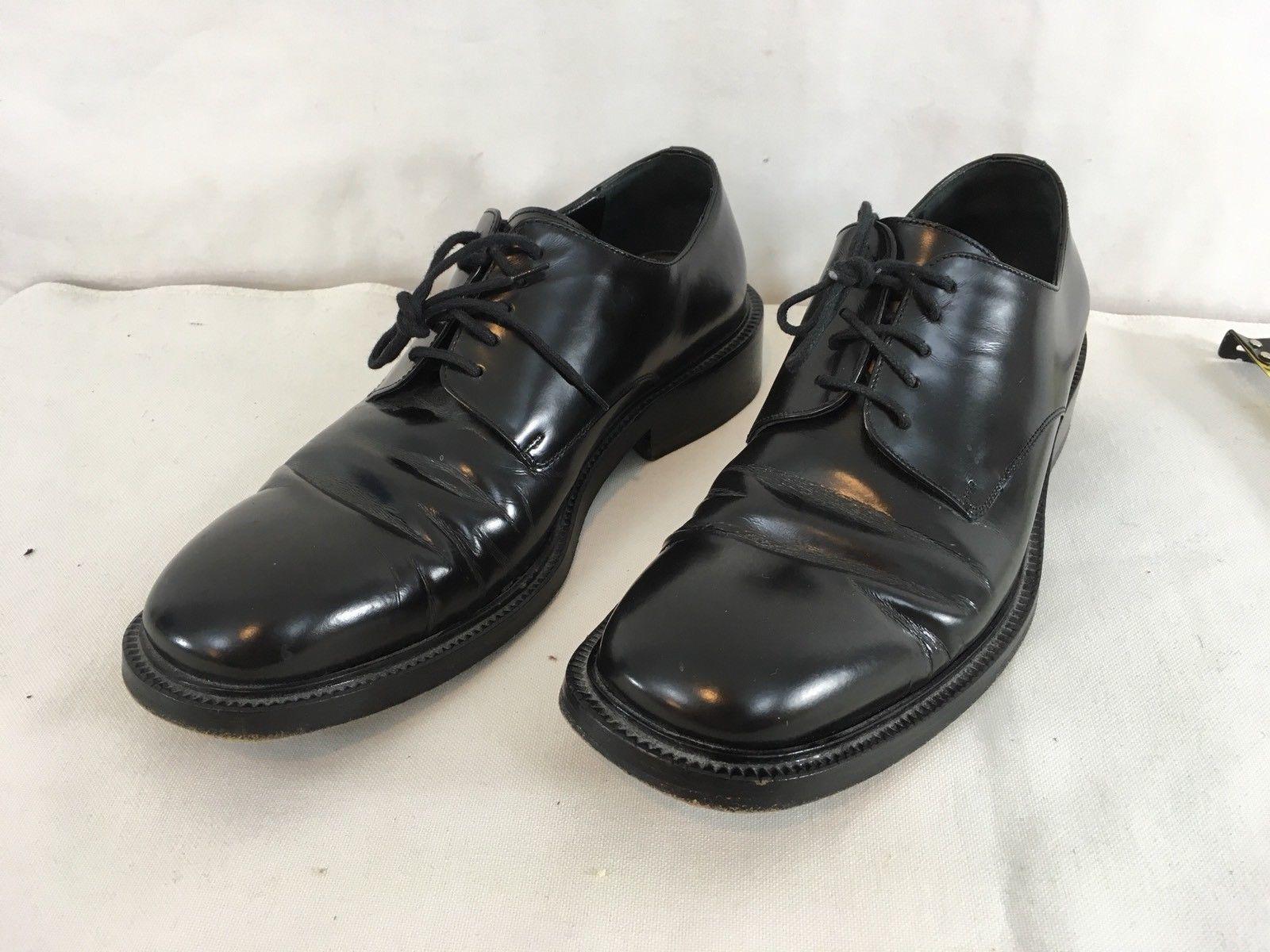 dedf93b2e Gucci Mens 6 1/2 D Black Leather Italian and 50 similar items